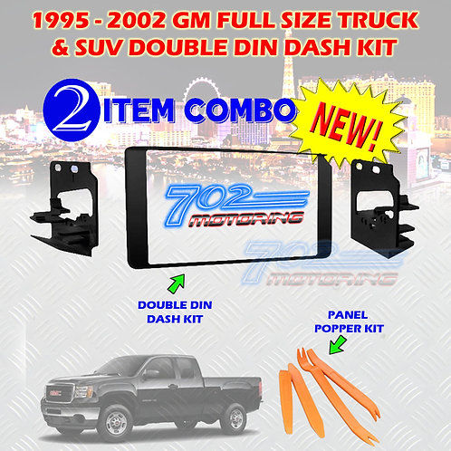 95-02 GM TRUCK/SUV DASH KIT 95-3003G + PANEL POPPERS