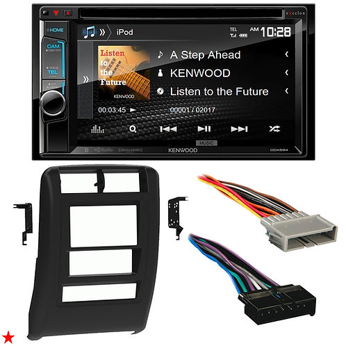 "1997 - 2001 JEEP CHEROKEE DOUBLE DIN CAR STEREO INSTALLATION DASH KIT BEZEL ""05"""