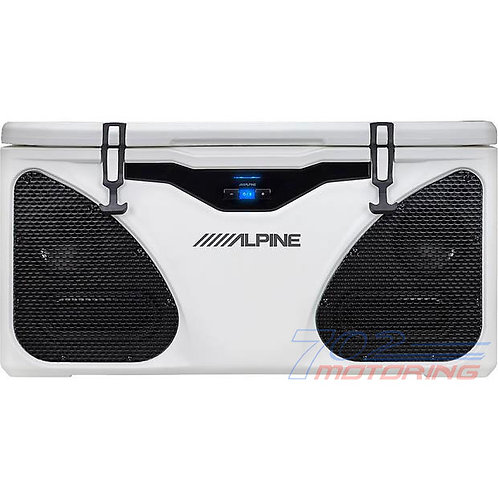 ALPINE PWD-CB1 IN-COOLER ENTERTAINMENT (ICE) SYSTEM AMPLIFIED SPEAKER BLUETOOTH