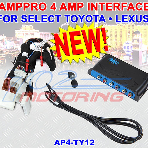 PAC AP4-TY12 ADVANCED AMPLIFIER INTEGRATION ADAPTER FOR TOYOTA/LEXUS RETAINS AMP