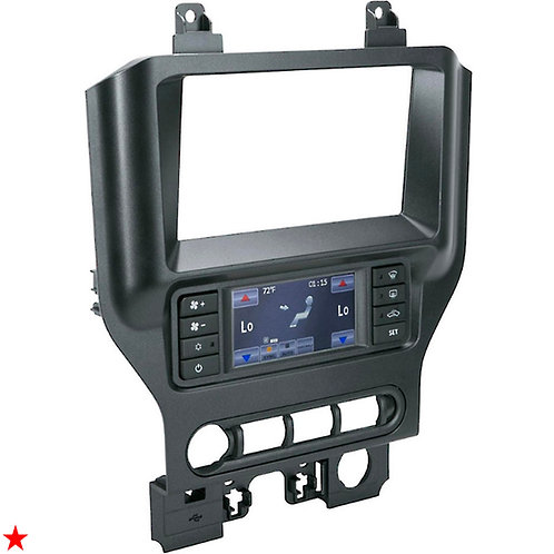 2015 - UP FORD MUSTANG DASH KIT WITH INTERGRATED / SWC CONTROL TOUCH SCREEN
