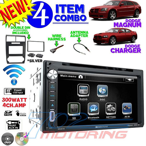 05-07 DODGE MAGNUM / CHARGER VR-651B + 99-6519S + HARNESS + ANTENNA A