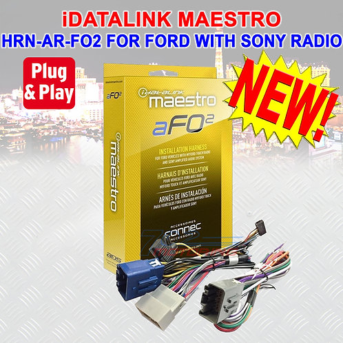iDATALINK HRN-AR-FO2 MAESTRO AR DSR1 REPLACEMENT MODULE T-HARNESS 2011+ FORD NEW