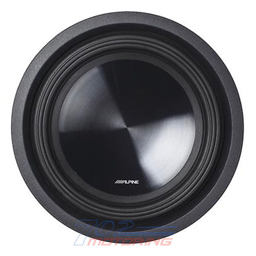 "ALPINE SWT-10S4 10"" TRUCK SUBWOOFER WITH 4-ohm VOICE COIL"