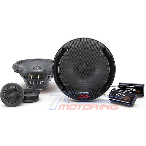 "ALPINE SPR-50C 5.25"" TYPE-R 300W COMPONENT CAR SPEAKERS MIDS TWEETERS CROSSOVERS"