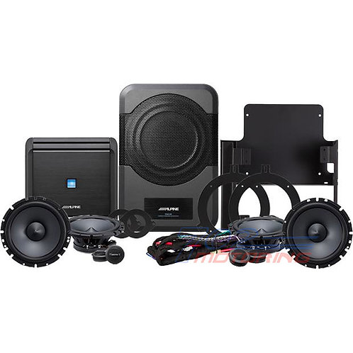 ALPINE RESTYLE PSS-21WRA DIRECT-FIT COMPLETE SPEAKER SYSTEM SELECT 2015-UP JEEP