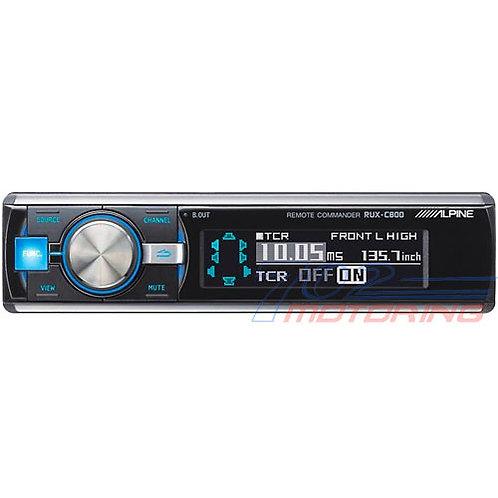 ALPINE RUX-C800 REMOTE COMMANDER FOR PXA-H800 SIGNAL PROCESSOR