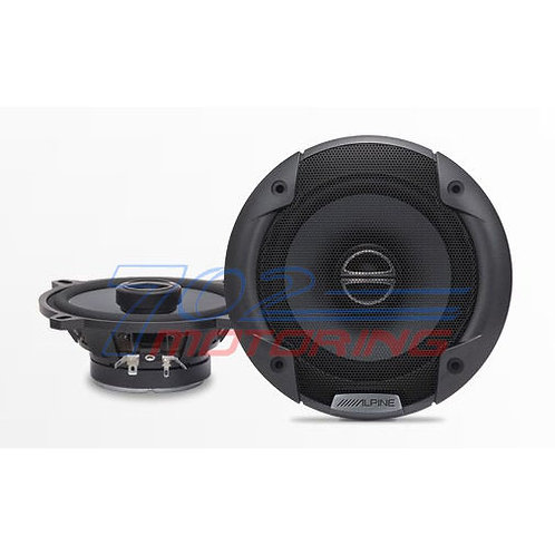 "ALPINE SPE-5000 400W PEAK (100W RMS) 5-1/4"" TYPE-E COAXIAL 2-WAY CAR SPEAKERS"