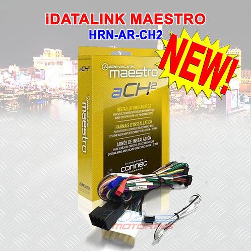 iDATALINK MAESTRO HRN-AR-CH2 T HARNESS FOR SELECT CHRYSLER DODGE JEEP RAM NEW!