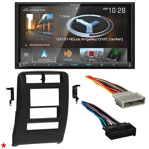 "1997 - 2001 JEEP CHEROKEE DOUBLE DIN CAR STEREO INSTALLATION DASH KIT BEZEL ""25"""