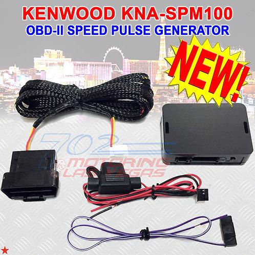 KENWOOD KNA-SPM100 OBD-2 SPEED PULSE ADAPTER FOR WIRELESS APPLE CARPLAY OBD-II