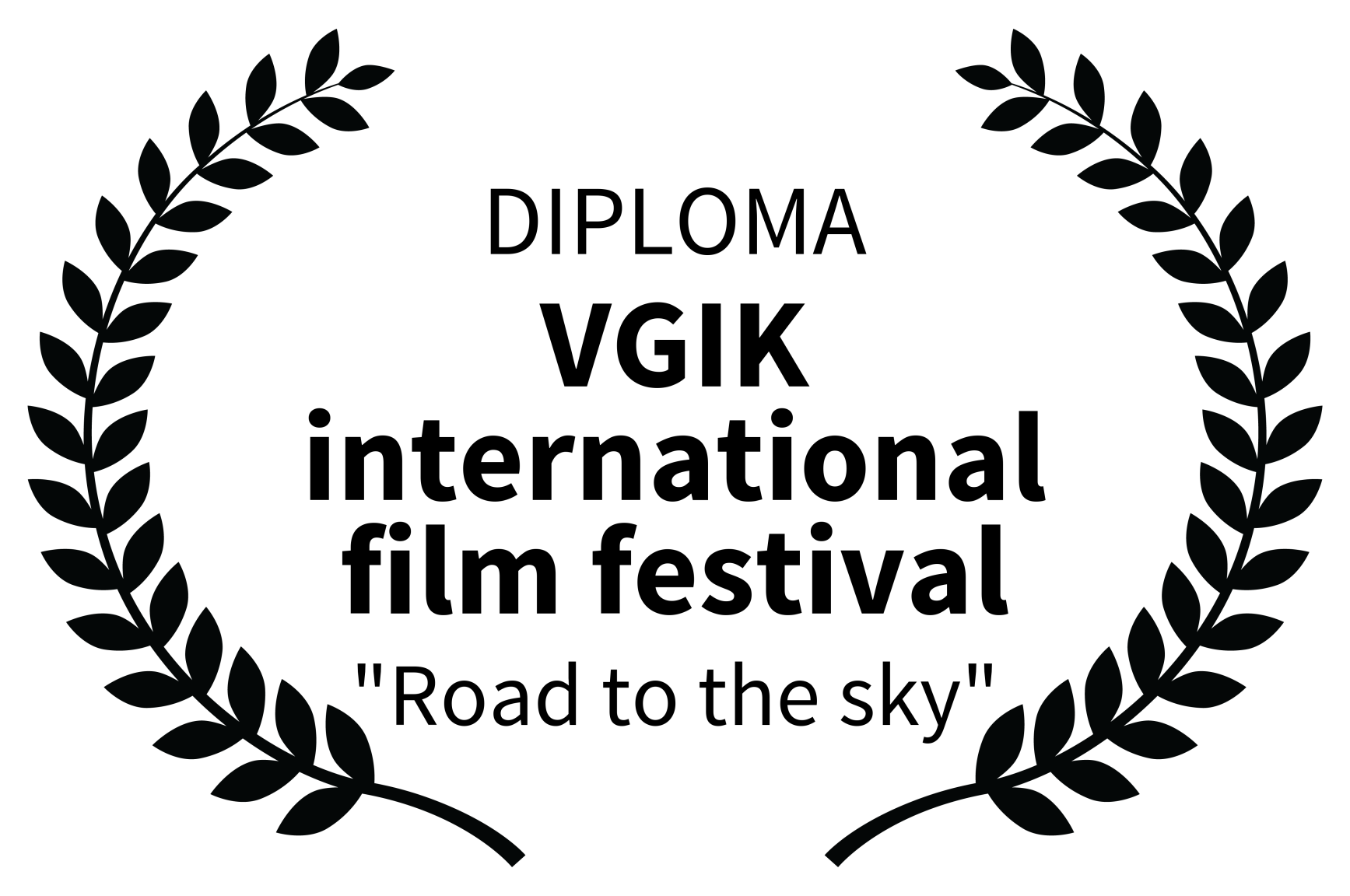 DIPLOMA - VGIK international film festiv