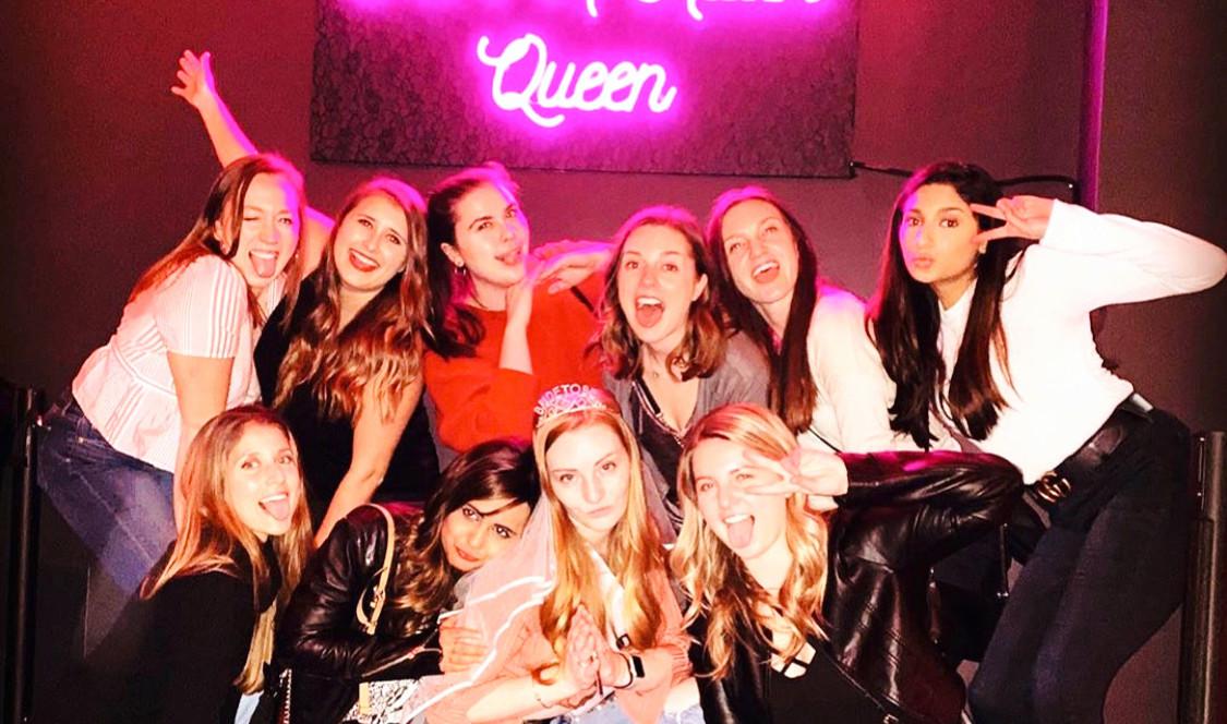 Sarah's Bachelorette Party