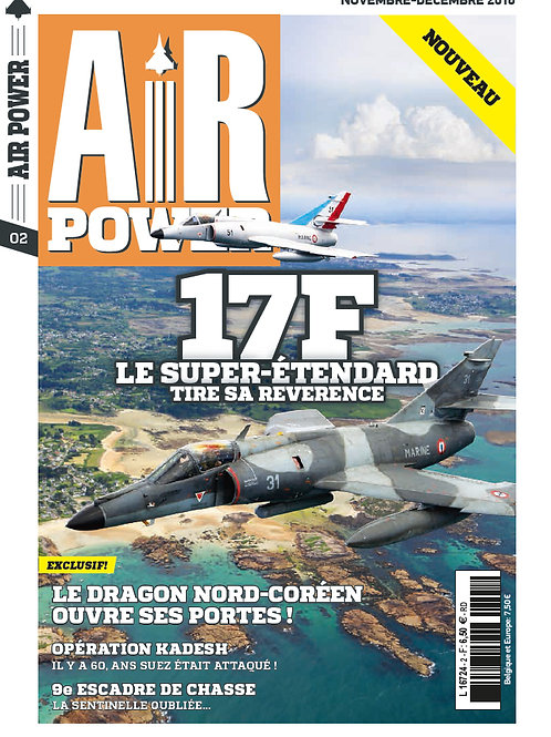 Airpower Nr 2  FRANCE & DOM-TOM