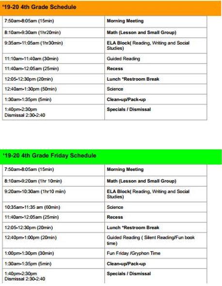 4th Grade Class Schedules.JPG