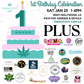 1st Birthday Tokeativity LA Celebration