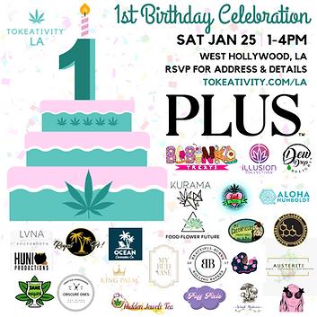 1st Birthday Tokeativity LA Celebration