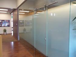 Sliding Glass Barn Doors