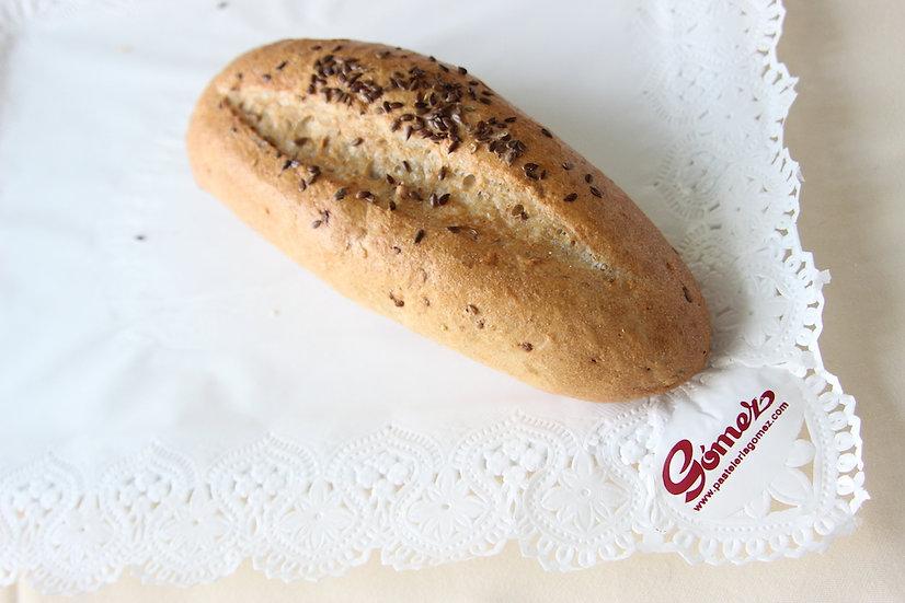 Panecillo de soja con avena