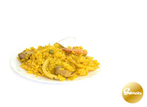 Paella mixta (€/Kg.)