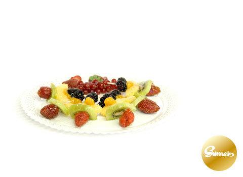Brochetas de frutas ... por favor consultar.