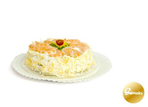 Tarta de gulas y gambas (€/Kg)
