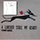 Thumbnail: Women's t shirt with small sighthound design, embroidered to order