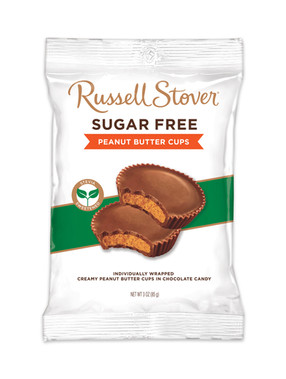 Russell Stover Sugar Free Peanut Butter Cup Peg Bag