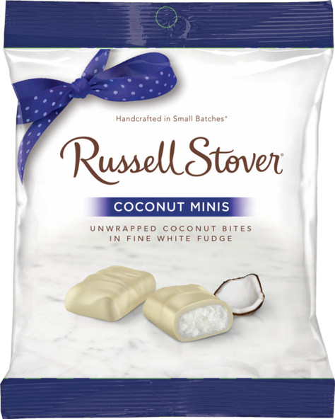 Russell Stover Coconut Minis Peg Bag