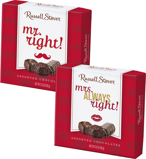 Mr & Mrs Russell Stover Assorted Chocolate Boxes
