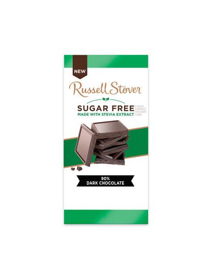 Russell Stover Sugar Free Dark Chocolate Bar