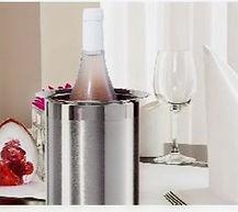hielera para vino cena romantica