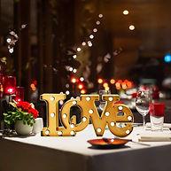 letrero de amor