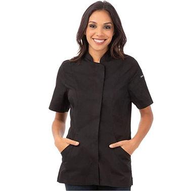 16 Abrigo de chef bordado personalizado