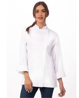 20 Chaqueta De Chef De Algodón Premium E