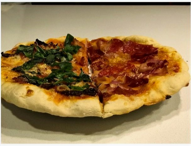Este viernes, preparamos uno de los platos que más me gusta, pizza, es un producto que es delicioso y se puede realizar con los ingredientes que uno quiera