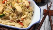 Receta de Phad thai, Fideos fritos al wok estilo thai.