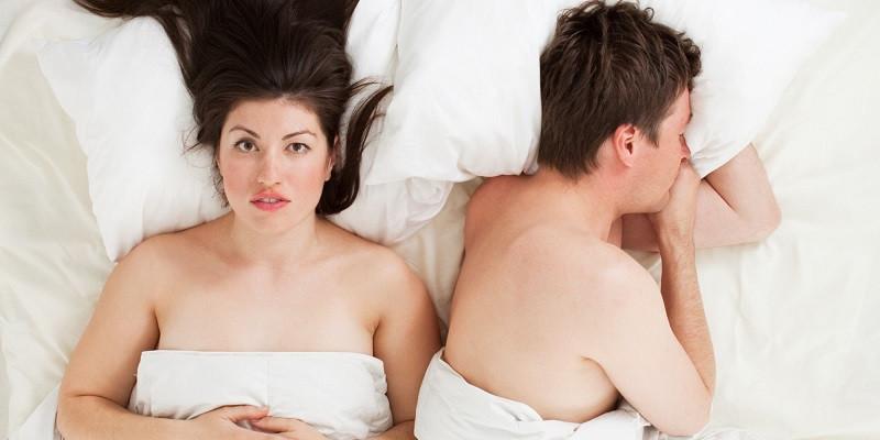 frustration et lassitude sexuelle dans le couple