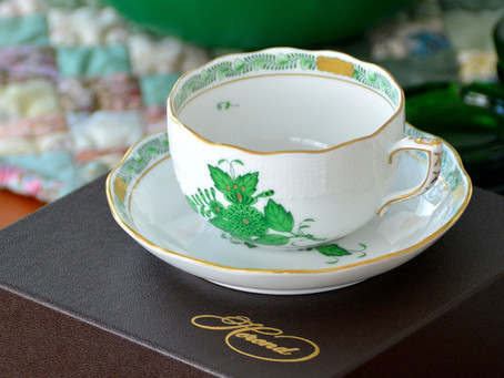 日本限定販売 ヘレンドアポニーグリーン みどりのサンタOne Green仕様