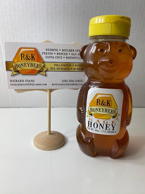 Sage Plastic Bear 16 oz, # 524