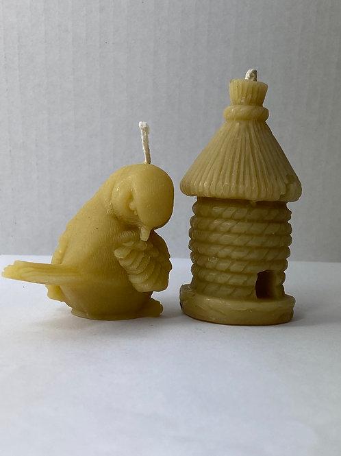 Bird & Birdhouse Duo, # 147