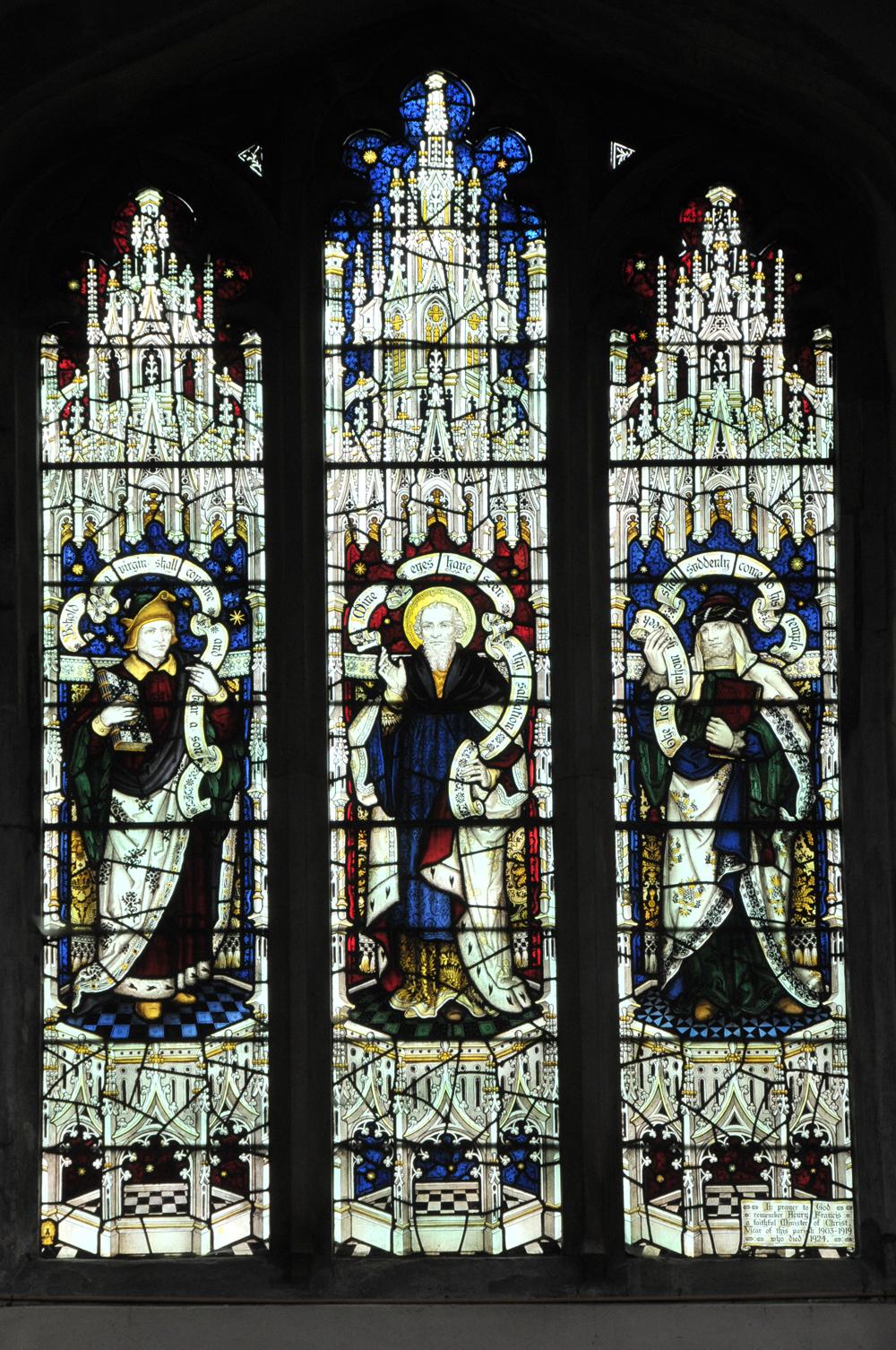 Isiah, Simeon and Malachi
