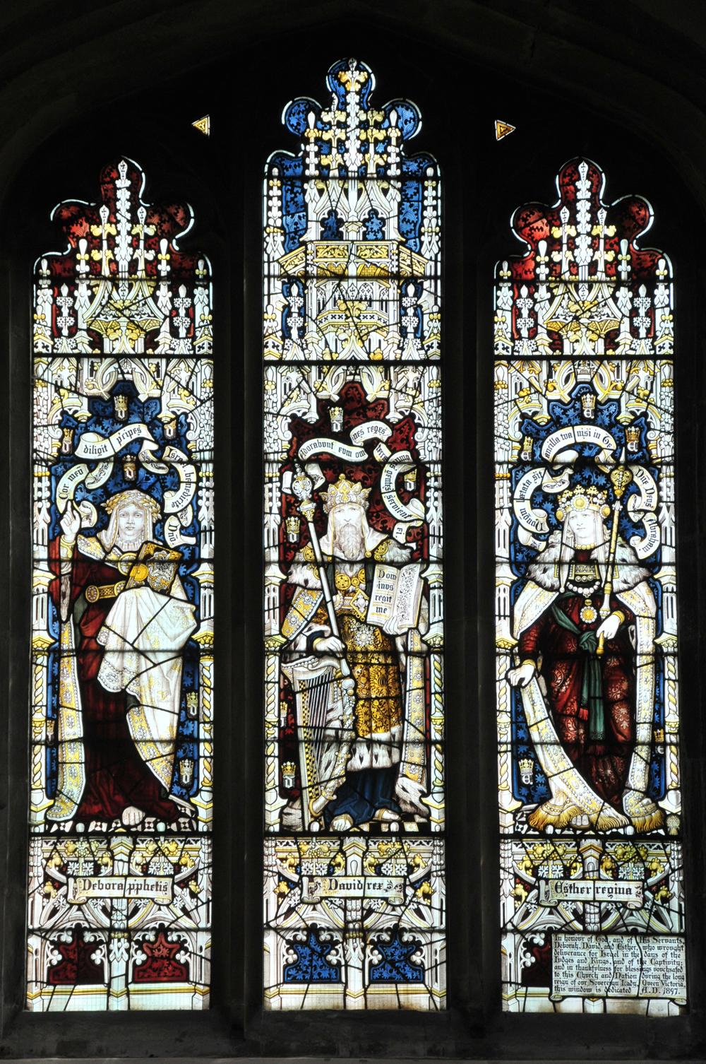 Deborah, David and Esther