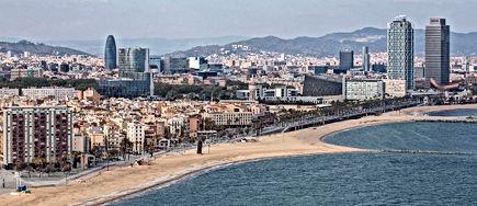 Playa Barcelona aforo