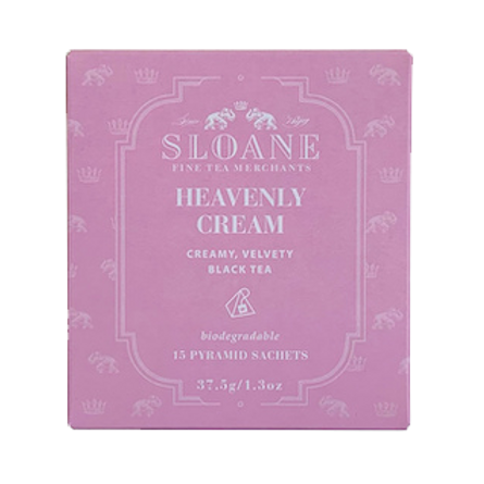 Heavenly Cream Sachet Box