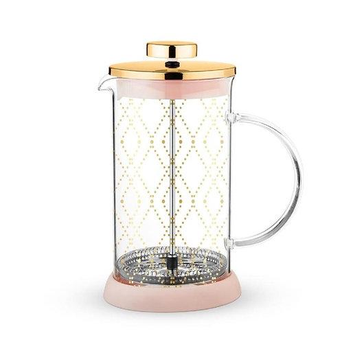 Gold Glass Tea Press