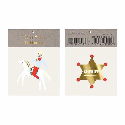 Sheriff Small Tattoos