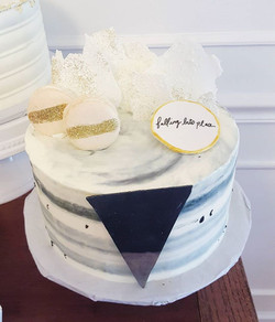 Falling Into Place cake