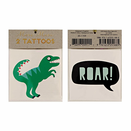 Dinosaur Small Tattoo