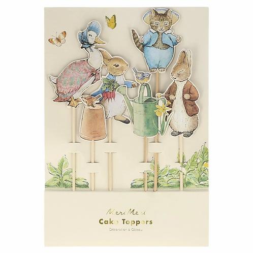 Peter Rabbit & Friends Cake Topper